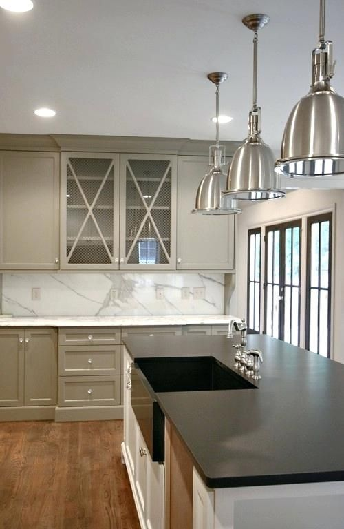 image result for benjamin moore thunder painted kitchen on benjamin moore kitchen cabinet paint id=51211