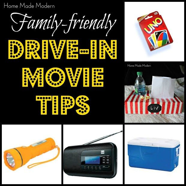 tips for drive-in movies