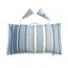 Striped Deckchair Cushion made by Limanda limanda Ltd in North #Yorkshire - £36.50