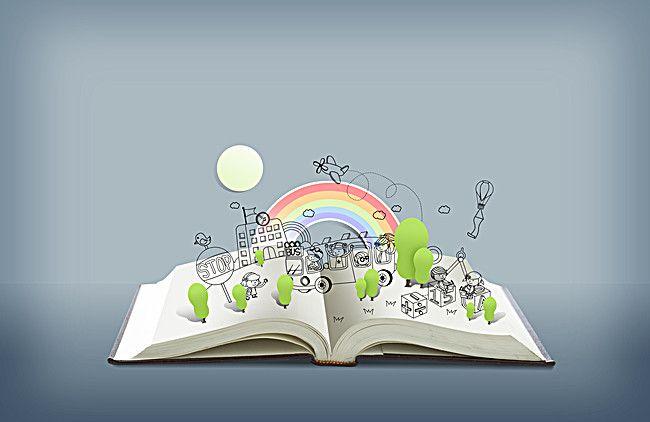 رسم كارتون قوس قزح الطائرة الخلفية طباعة الكتب Prints Cartoon Drawings Print Book