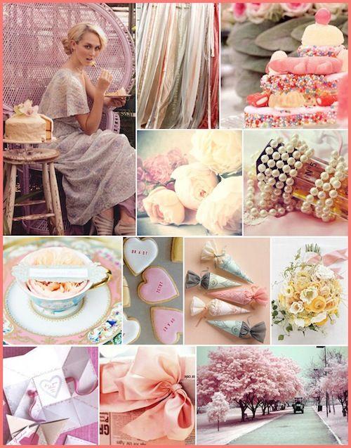 victorian: Valentine'S Day, Romantic Wedding, Soft Colors, Romantic Colors, Tea Parties, Ideas Romantic, Pastel Palettes, Teas Parties, Pink Parties