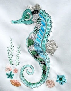 The Stitchery Doers: Embroidery: Seahorse ...