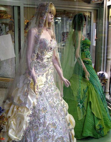 Tunisian wedding dress