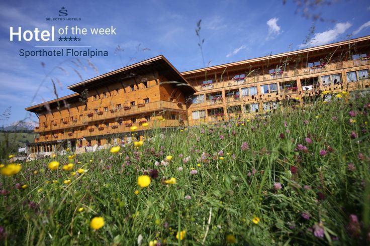 #Sporthotel #Floralpina auf der #Seiser Alm in den #Dolomiten