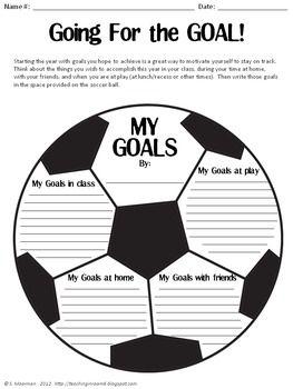 Goal Setting by Teaching in Room 6 | Teachers Pay Teachers