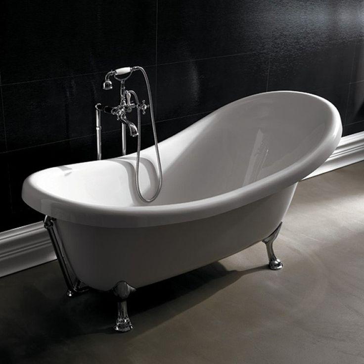 Oltre 1000 idee su vasca da bagno freestanding su - Tappo vasca da bagno ...
