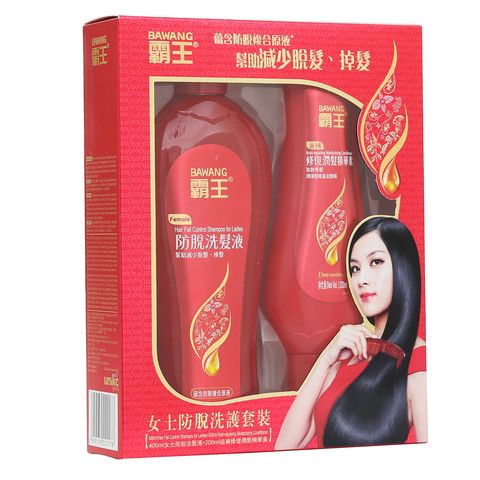 Women's Hair Fall Control Shampoo & Conditioner