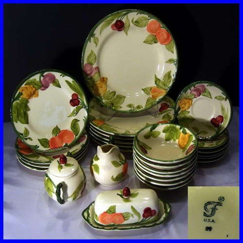 Franciscan  Fresh Fruit  everyday china. I hope I never see this in an. Occasion DinnerwareDinnerware SetsAntique ... & 89 best Dishes and China and Crystal...Oh My! images on Pinterest ...