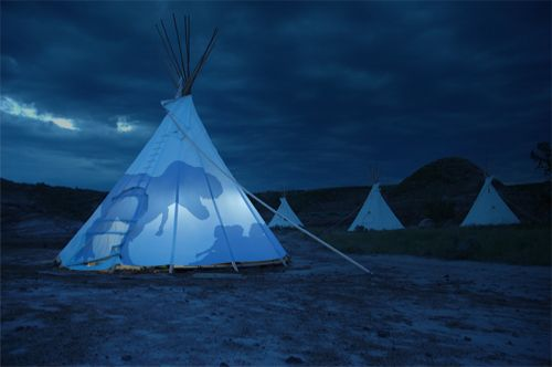 Encana Badlands Science Camp Sleep in a real teepee, prospect for dinosaur fossils, and discover the prehistoric past in the heart of the Canadian Badlands.