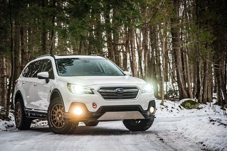 Brand Subaru Model Outback 3 6r Premier Canadian Edition Year 2018couleur Crystal White Pearl Modifications Bumper Guard Subaru Outback Subaru Outback