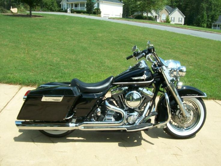 Road King With Solo Seat And Fairing