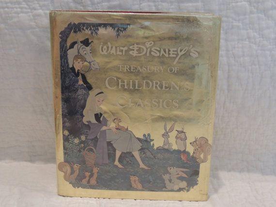 Walt Disney's Treasury of Childrens by PurveyorsOfFineJunk on Etsy