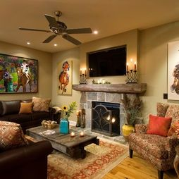 Tuscan Style Living Room By Houzz