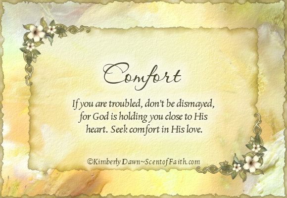 Words of Comfort during Loss