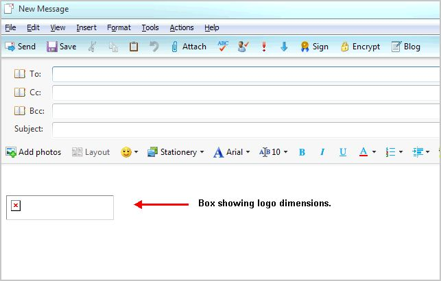 Windows Live Mail with ghost image