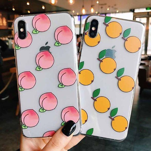 Case for iphone peach orange Case for iphone peach orange