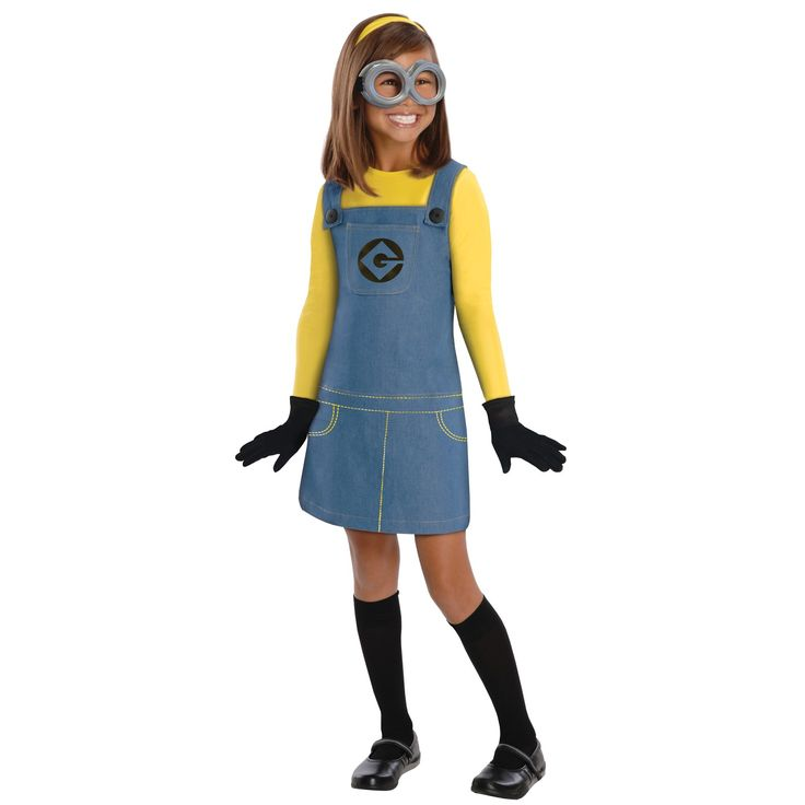 Despicable Me 2 - Female Minion Kids Costume | BuyCostumes.com