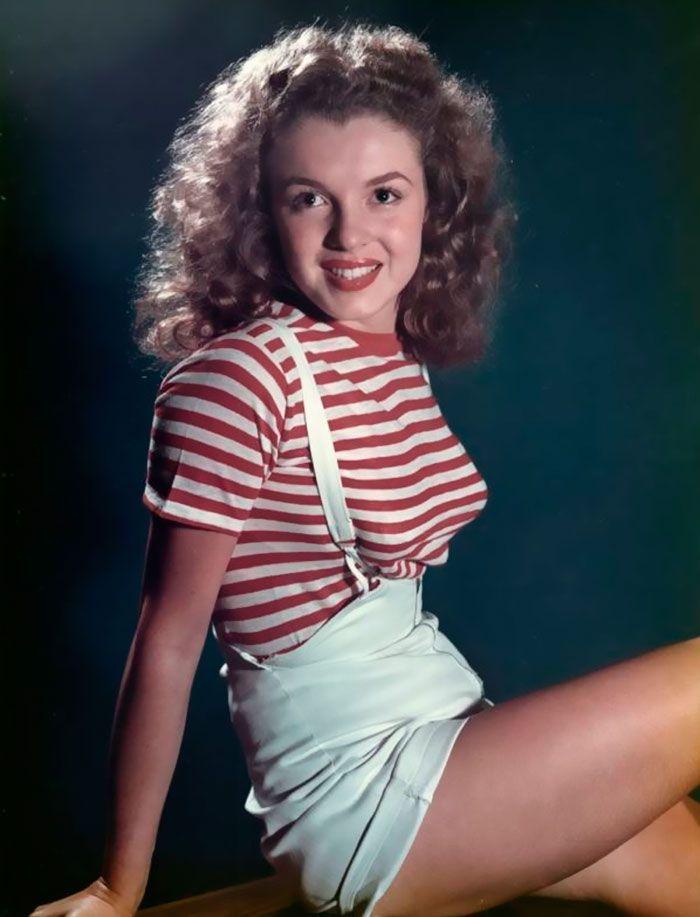 Marylin Monroe prima di diventare famosa. www.glyphs.it #quadripersonalizzati #stampaquadripersonalizzati