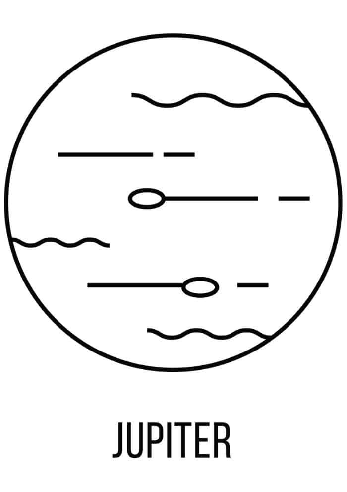Jupiter Solar System Coloring Pages Solar System Coloring Pages Planet Coloring Pages Solar System