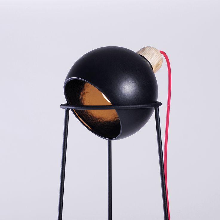 Glazer 3 floor lamp by ODESD2. Designer: Maria Krasiuk.