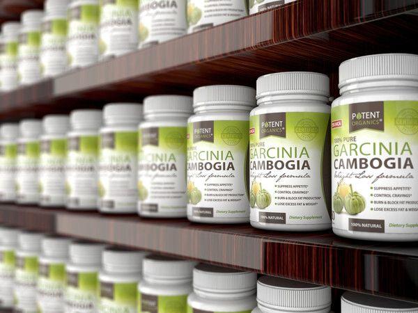pure 1000mg of Garcinia Cambogia plus natural Potassium and Calcium
