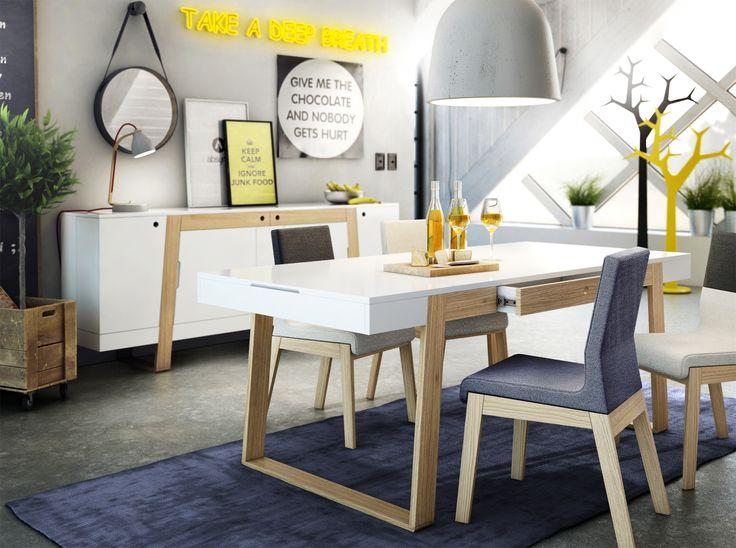 Unikalna kombinacja stylu skandynawskiego z dużą dawką loftowego klimatu.