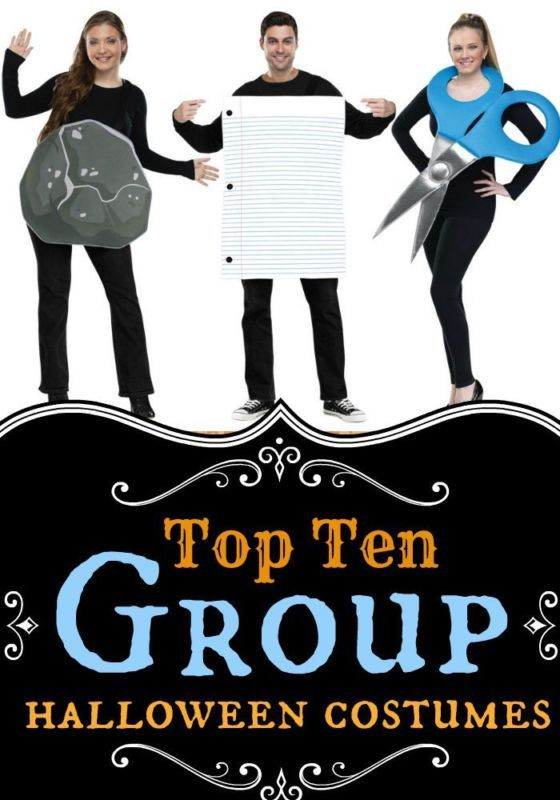 top 10 group costume ideas for halloween - Halloween Costume For Work Ideas