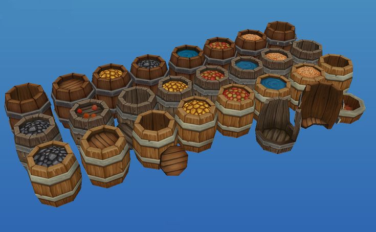 Barrels by Jimpaw.deviantart.com on @deviantART