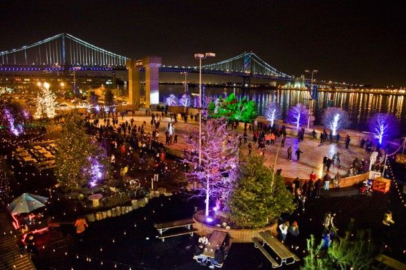 Blue Cross RiverRink Winterfest - Fire pits and hot chocolate too :)