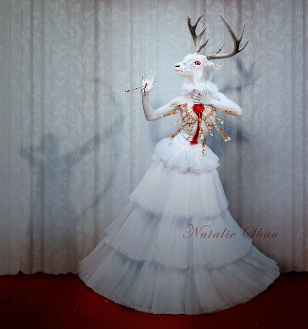 Hunter's Dream by Natalie Shau: Hunters, Natalieshau, Hunter S Dream, Inspiration, Dreams, Art Natalie Shau, Deer