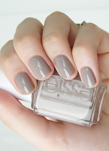 Essie – Miss Fancy Pants... It's all about the gray nails this season :)