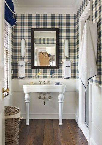 Ba o papel pintado cuadros cuarto de ba o pinterest - Cuadros para cuartos de bano ...