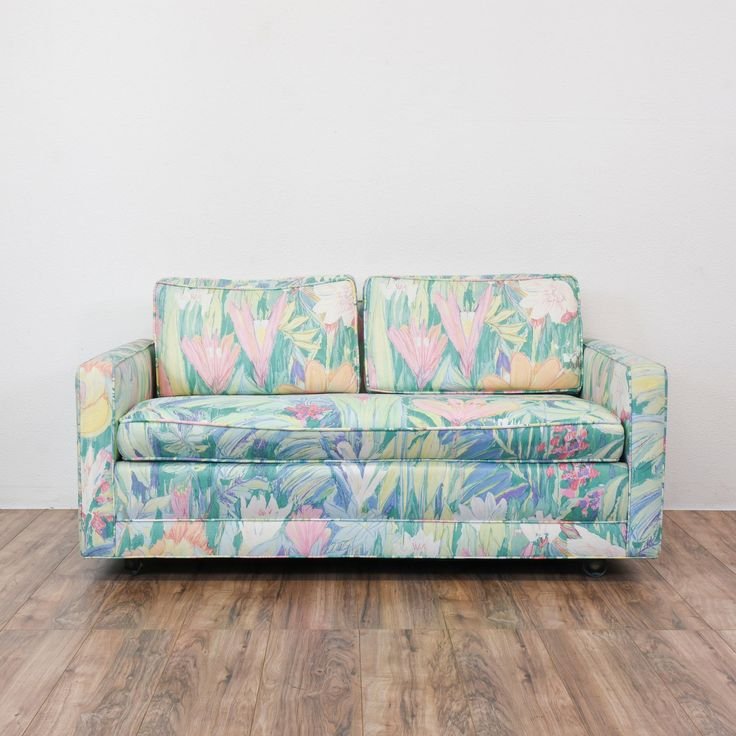 beach print sleeper sofas childrens foam sofa beds uk tropical the 25 best ideas on ...