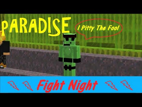 Paradise Fight Night Minecraft Server
