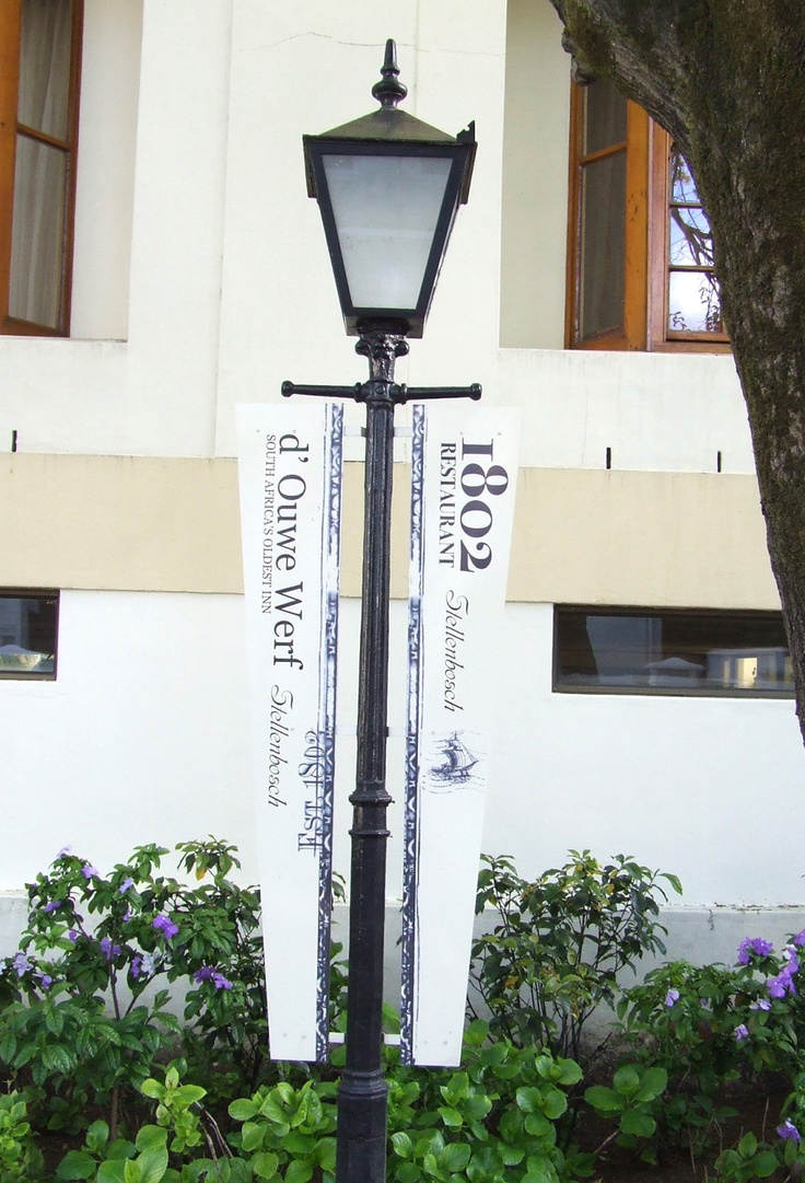 De Oude Werf Restaurant signage