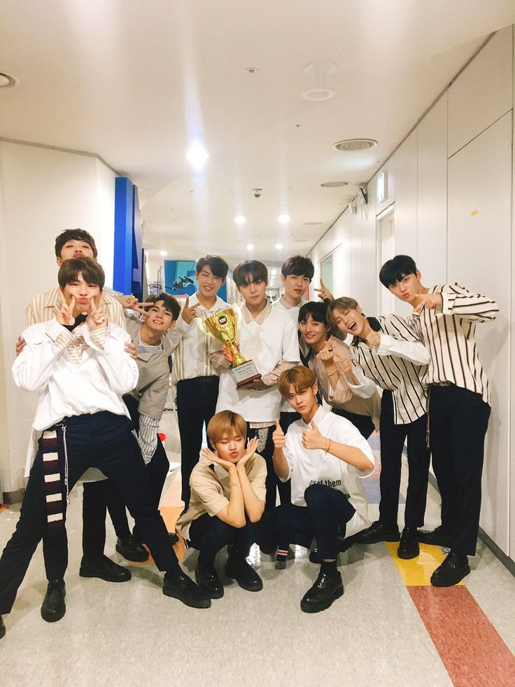 Wanna One Energetic 7th Win