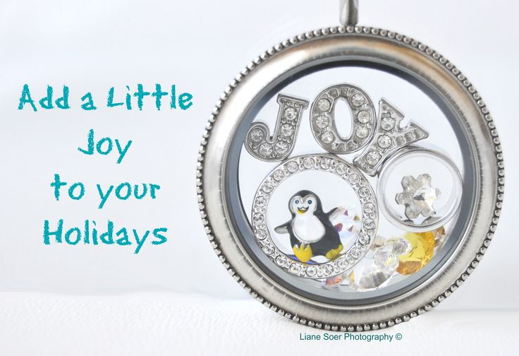 Add a little Joy to your Holidays with an Origami Owl locket, bracelet or watch. See all the possibilities at lianesoer.origamiowl.com or message me at customlocket4u@gmail.com #OrigamiOwl #penguin #ChristmasHoliday #joy