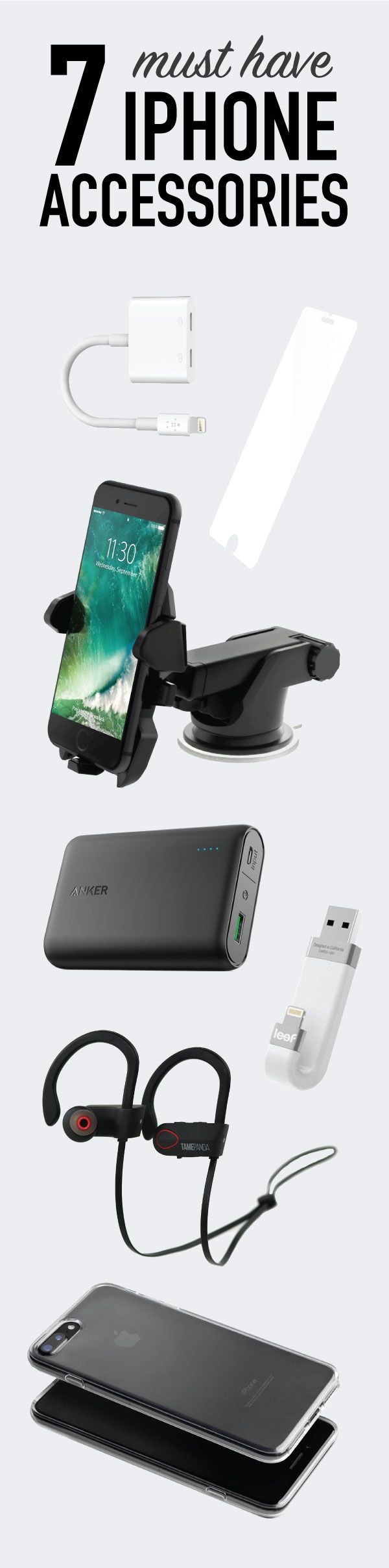 Having an iPhone 7/7+? Cool. Snagging a few must-have accessories for it? Even cooler.