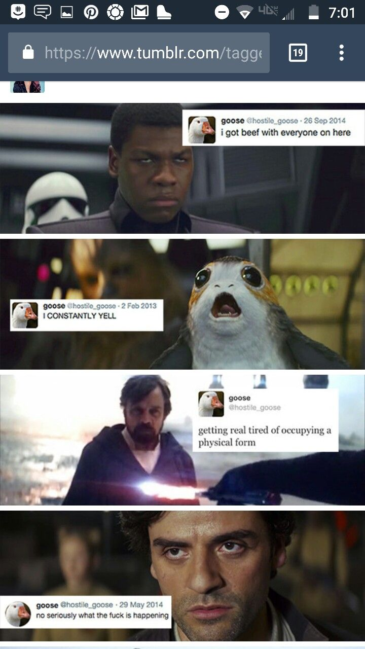 Star Wars plus text posts tweets funny