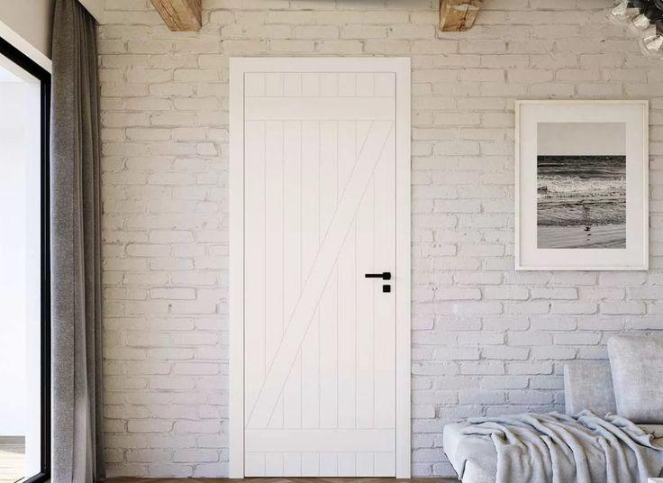 Znalezione obrazy dla zapytania drzwi jak do stodoły nowe białe