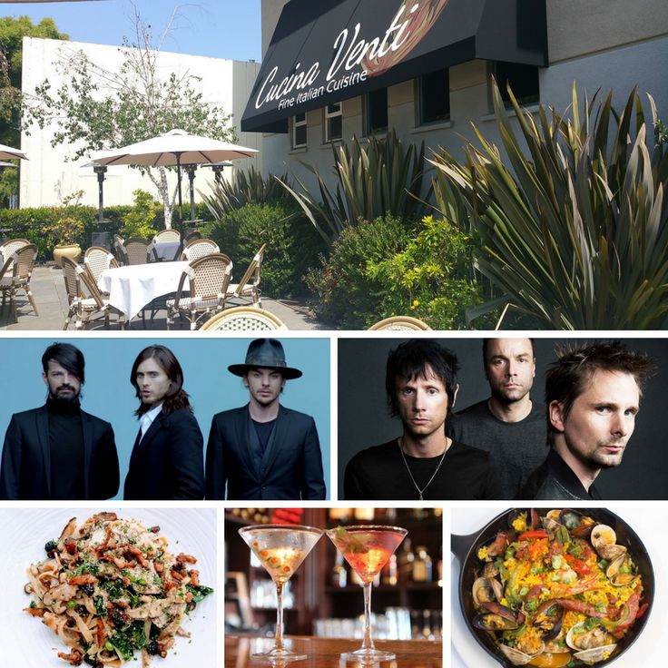 Muse and 30 Seconds to Mars this Friday at Shoreline Amphiteatre! Make reservations for #preshow dinner and drinks! https://www.opentable.com/r/cucina-venti-mountain-view