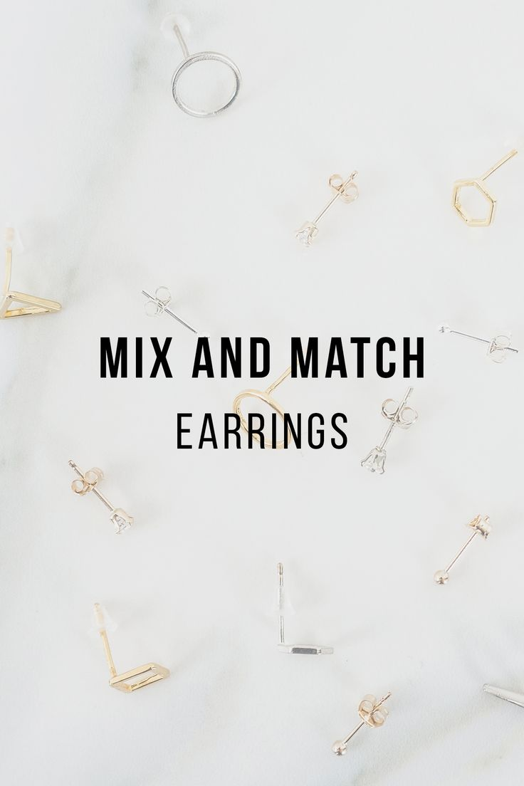 Shake up your style with our mix and match earrings. Deliberately mismatch your jewellery. Think: minimalist studs, diamond solitaires, fluid arcs, and geometric earrings; mismatched and asymmetrical with contrasting metals and shapes. It's a modern twist on the classic accessory.