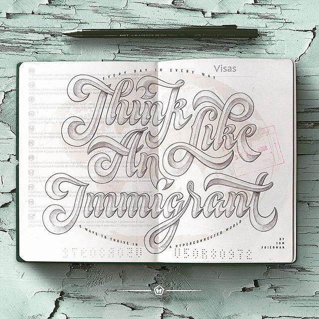 Think like an immigrant by maztrone