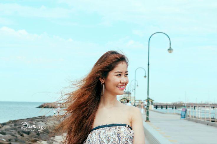 #dearyouphotography #portrait #beach #maxi #outdoor