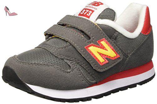 New Balance NBKV373TOP, Chaussures de Marche pour Bébé Bébes, Jaune (Grey Orange), 28 EU - Chaussures new balance (*Partner-Link)