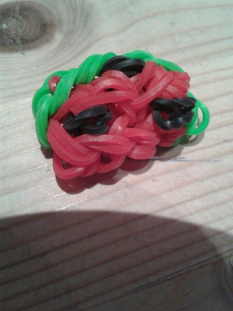 Rainbow Loom Melone