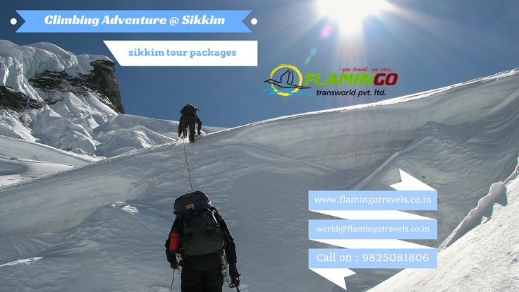 Climbing peaks with #SikkimTourPackages