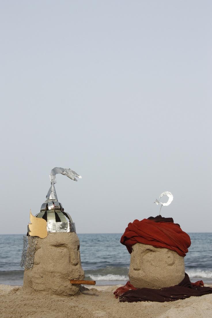 fotografia original per al cartell de festes de moros i cristians El Campello 2012
