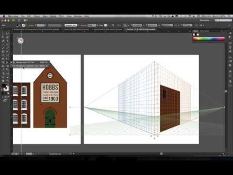 Adobe Illustrator's Perspective Grid Tool