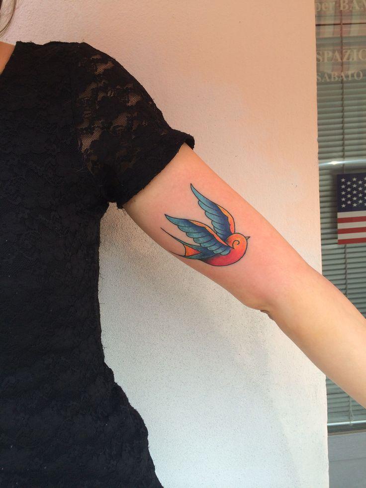 #Swallow by Edoardo Tabacchi #tattoo #artist Instagram: siredwardtattoo